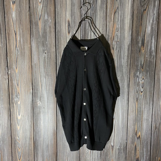 [used]mode black summer knit