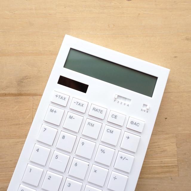 おしゃれでスマートな電卓。Calculator 12DD