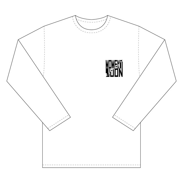 "MOMENT JOON ""Passport & Garcon"" L/S Tee [WHITE]"