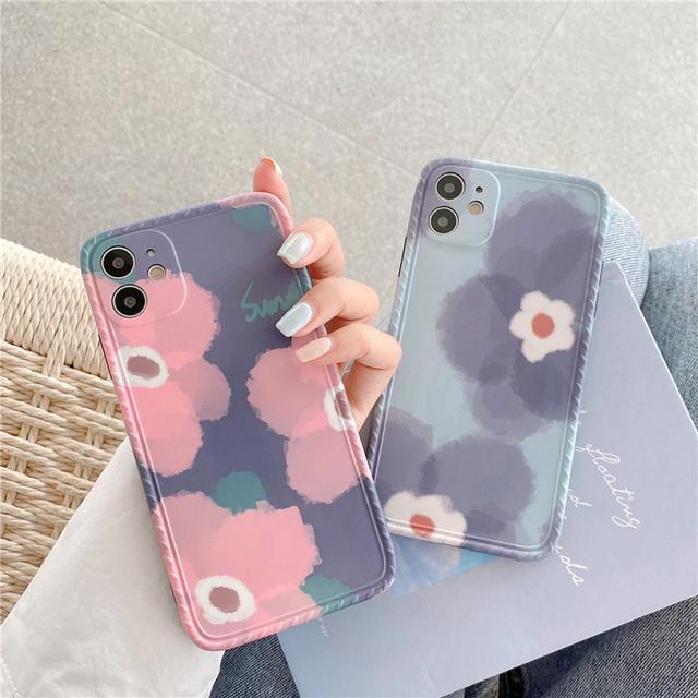 Retro sweet flower iphone case