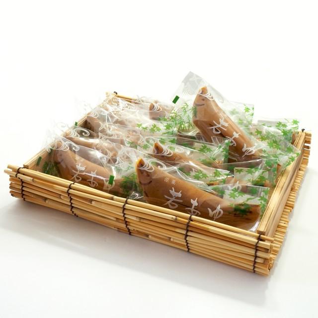 若鮎  籠10本入り 風呂敷付き (ご進物用)
