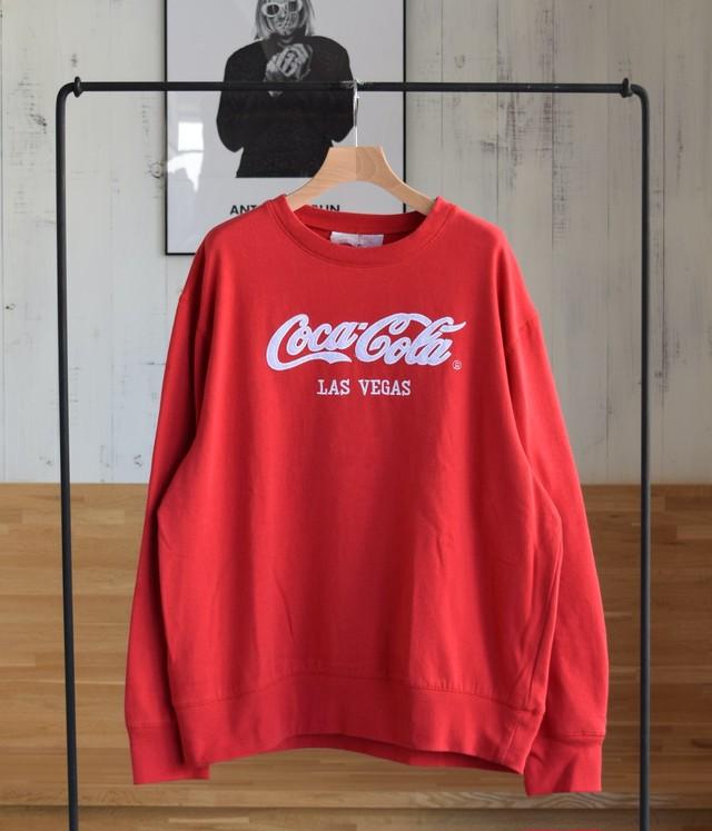VINTAGE 80s SWEAT SHIRT -COCA COLA-