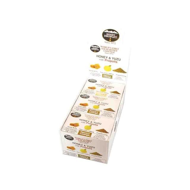 【カシス果汁配合】ハニードロップレット ハニー&ブラックカラントwithローヤルゼリー1,000mg(のど飴) x1箱(6粒入り)