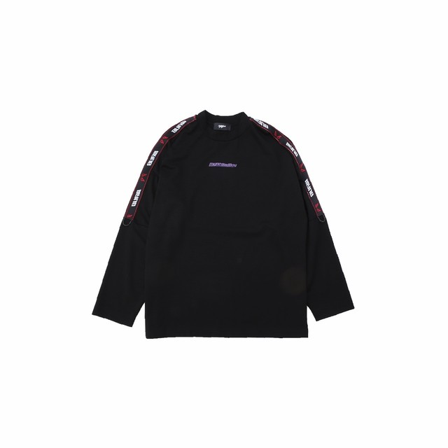 【10%OFF】MYne × BADBOY L/S T-shirt / BLACK - メイン画像