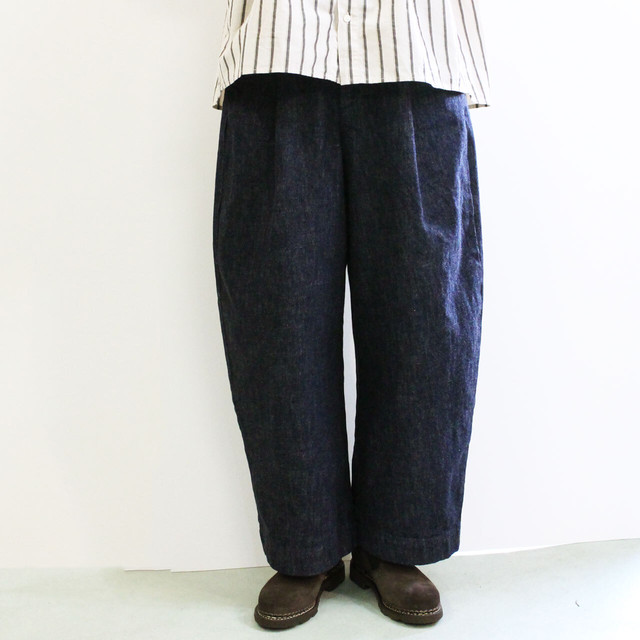 sasanqua by trees サザンカバイツリー BNN TROUSER  バナナトラウザー AN-133 13oz DENIM PANTS