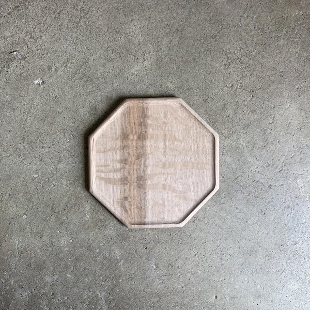 Octagonal plate S