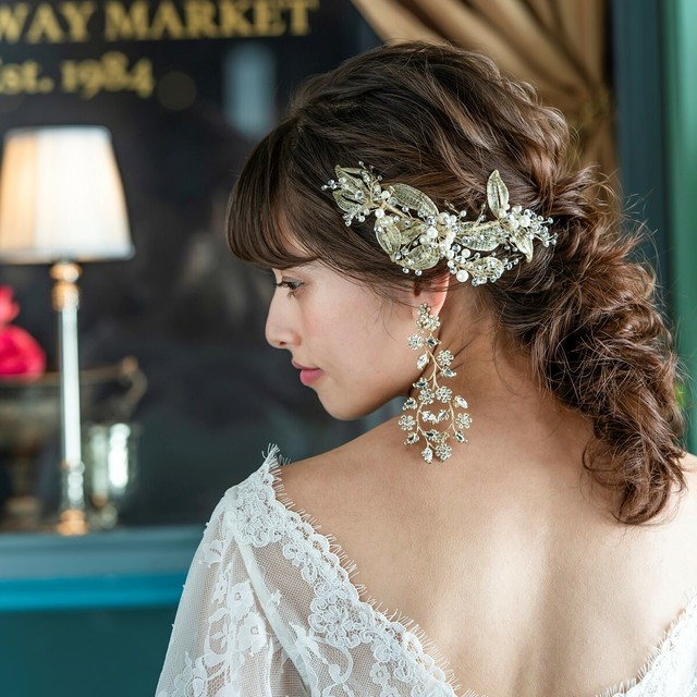 goldlace リーフモチーフヘッドドレス