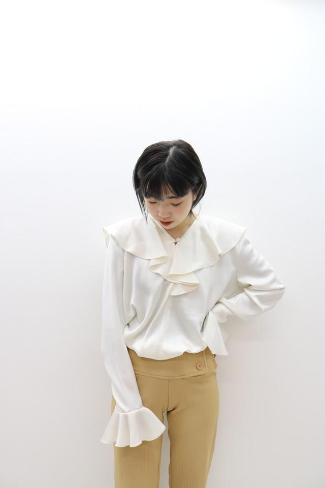 frill blouse/ BL11160008
