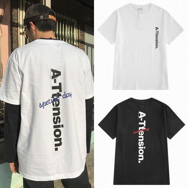 メンズ/レディース ユニセックスTシャツ 半袖 春コーデ 夏コーデ / Men and women retro short sleeve T-shirt