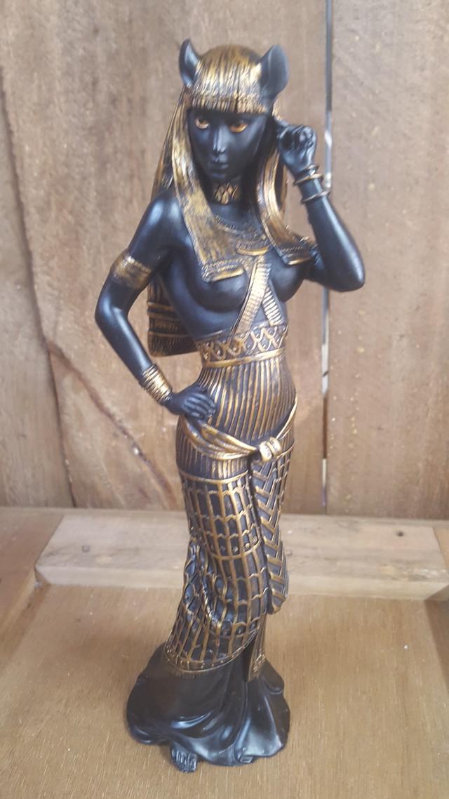 【エジプシャン】エジプト神 バステト神 28cm【フィギュア】YTC8857