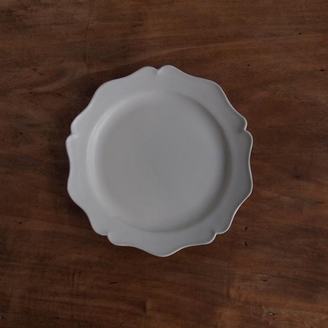 坂上のり子|レリーフ丸皿  小