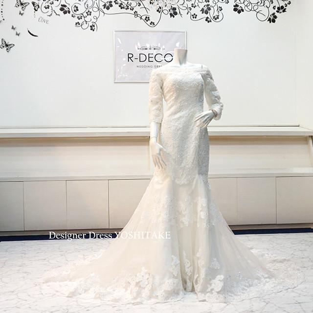 ウエディングドレス マーメイドドレス 挙式用