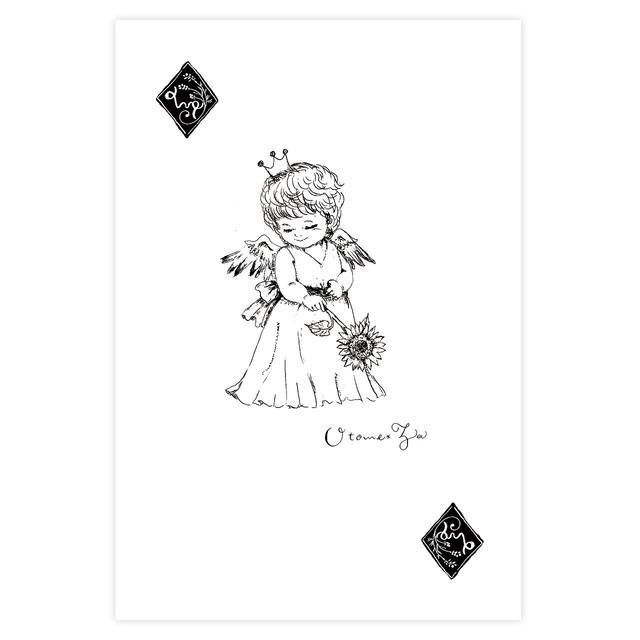 ポストカード 星座天使 乙女座 ~mintee~