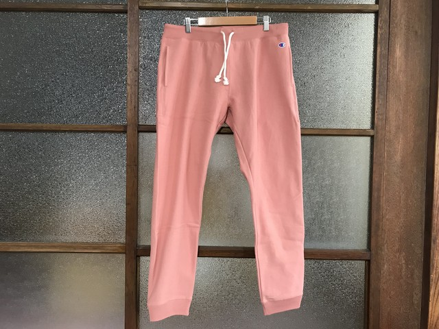 CHAMPION REVERSE WEAVE WMNS SWEAT PANTS (SALMON PINK)