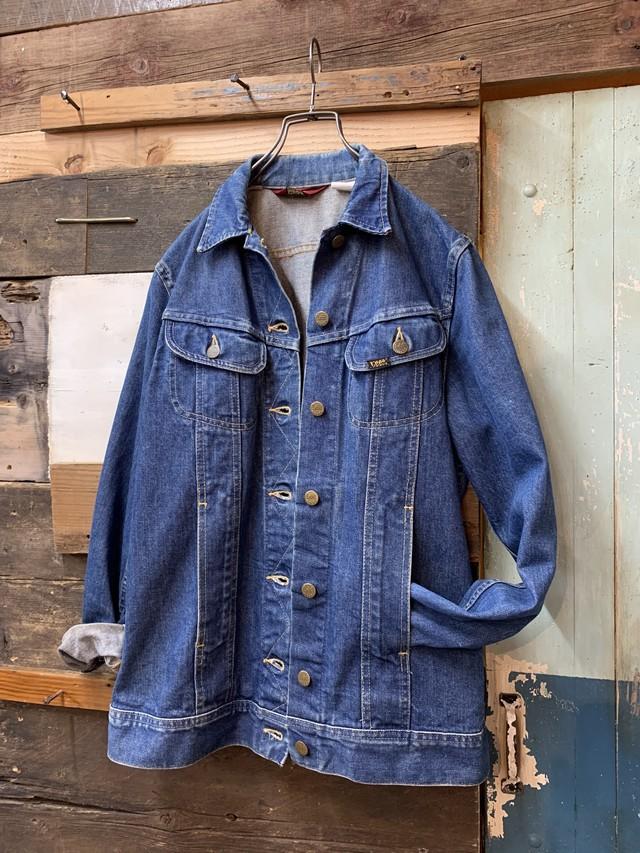 80's Ms Lee long denim jacket