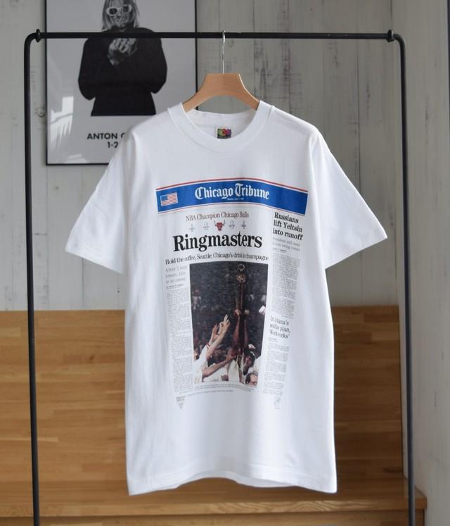 VINTAGE 90s T-shirt -Chicago Bulls-