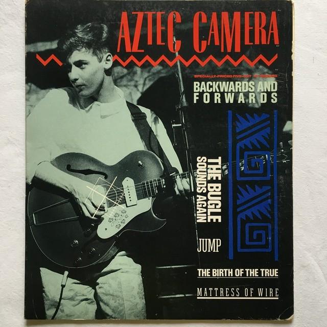 【10inch・米盤】Aztec Camera / Backwards And Forwards
