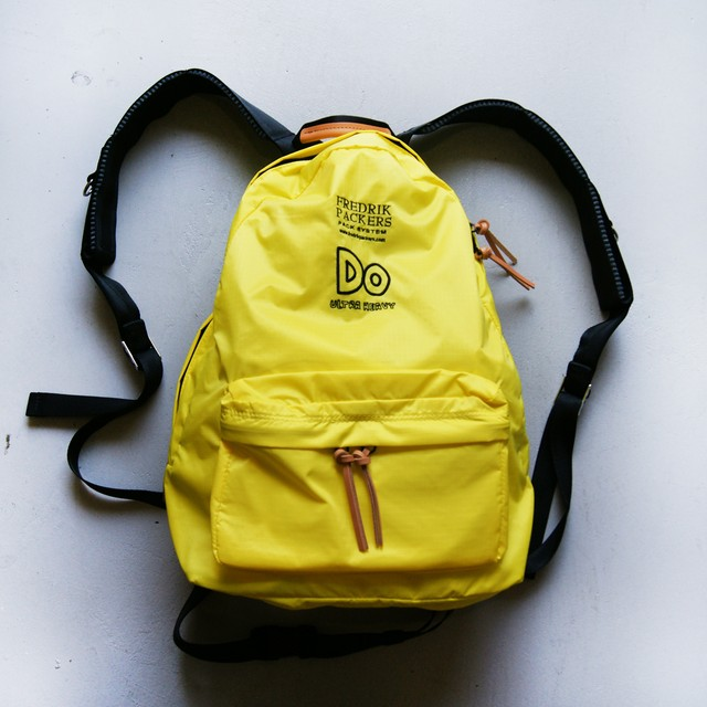 ULTRA HEAVY FREDRIK PACKERS 普通のデイパック YELLOW
