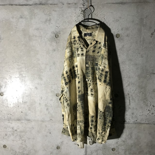 [used] lots panels designed shirt