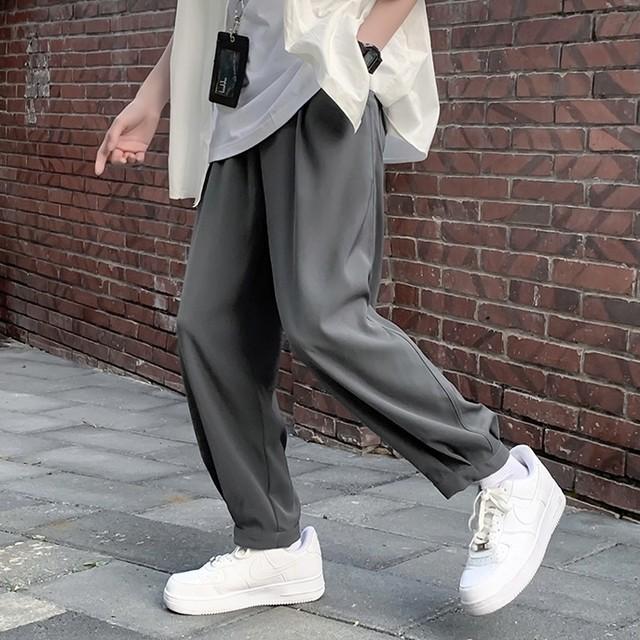 drape ankle pants PD2632