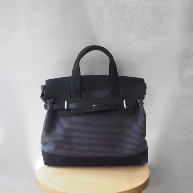 CaBas N°55 1Day tripper mini +shoulder strap Gray/Black
