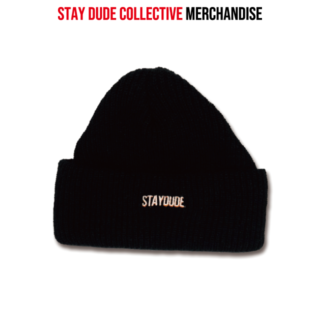 【STAY DUDE COLLECTIVE】Knit Watch Cap 2019