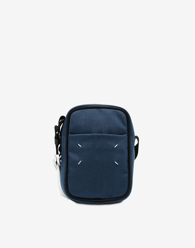 Maison Margiela mini cross body bag blue