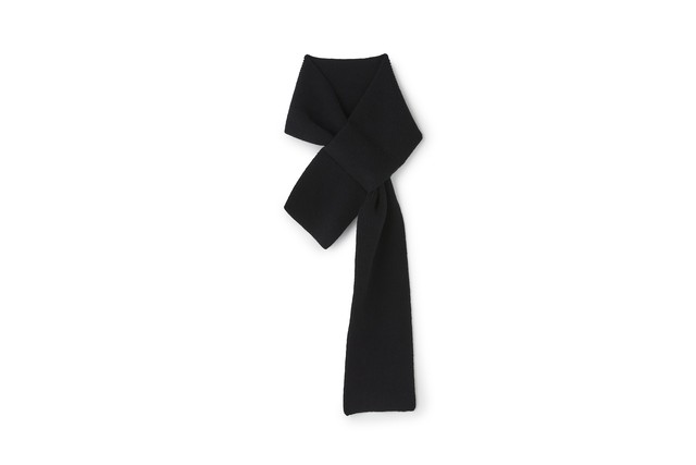 LAMB SCARF - [BLACK]