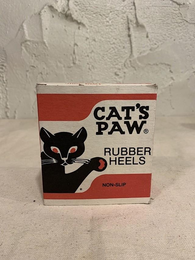 "EMPTY BOX  "" CAT'S PAW RUBBER HEELS """