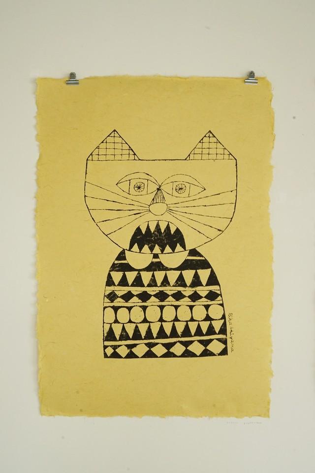 [期間限定] あきやまりか / ネコはうたう : 黄(シート)