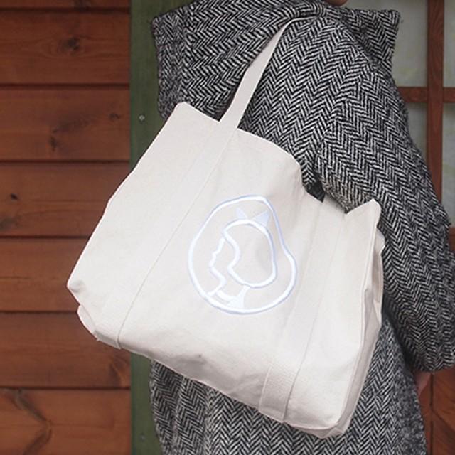 【フィンランド】 ムーミン ショッピングバッグ(黒・彗星) トートバッグ エコバッグ
