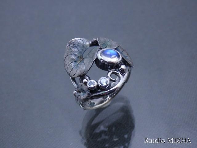 草あそび(金工の指飾りmr185-01)
