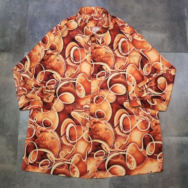 pattern all over art big shirt