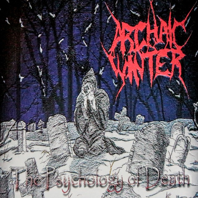 ARCHAIC WINTER『The Psychology of Death』CD