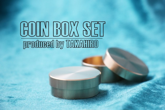 COIN BOX SET produced by TAKAHIRO