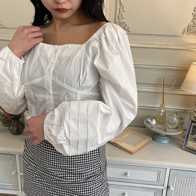 【Belle jour】big puff blouse