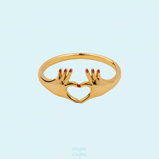 Coucou Suzette Love Ring