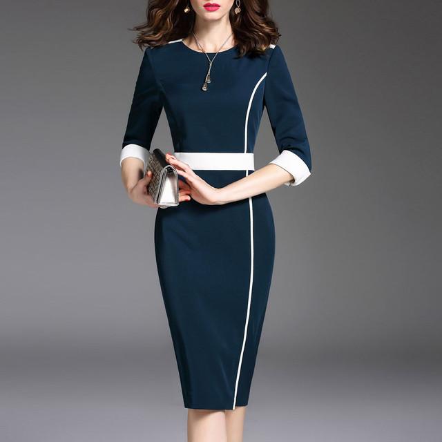 【dress】自信満々存在感アップ配色ワンピース