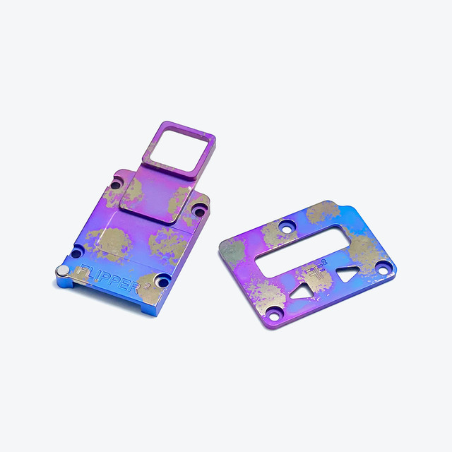 FLIPPER2 LIMITED EDITION TI INNER PLATES – A
