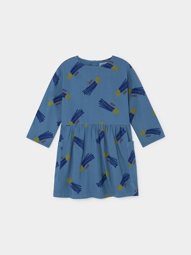 【19AW】ボボショセス(BOBO CHOSES) -ALL OVER A STAR CALLED HOME PRINCESS DRESS[2-3y/4-5y/6-7y]
