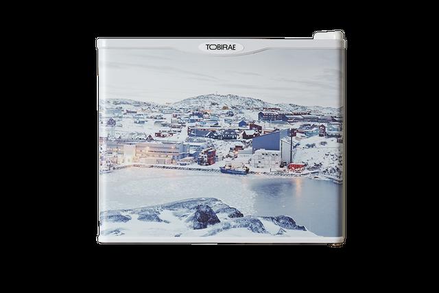 石川直樹 写真家 「Ilullisat city, Greenland / 2007」 17リットルREIZOKOSPEAKER