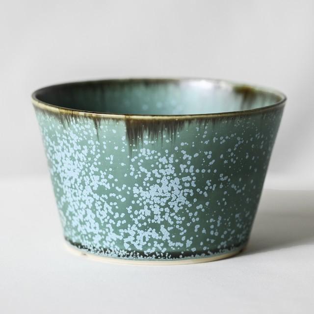 Turquoise glaze basic pot(M)