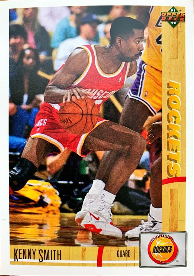 NBAカード 91-92UPPERDECK Kenny Smith #276 ROCKETS