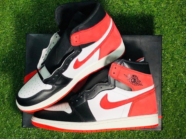 NIKE AIR JORDAN 1 RETRO HIGH OG TRACK RED 28cm 555088-112 290JG7286
