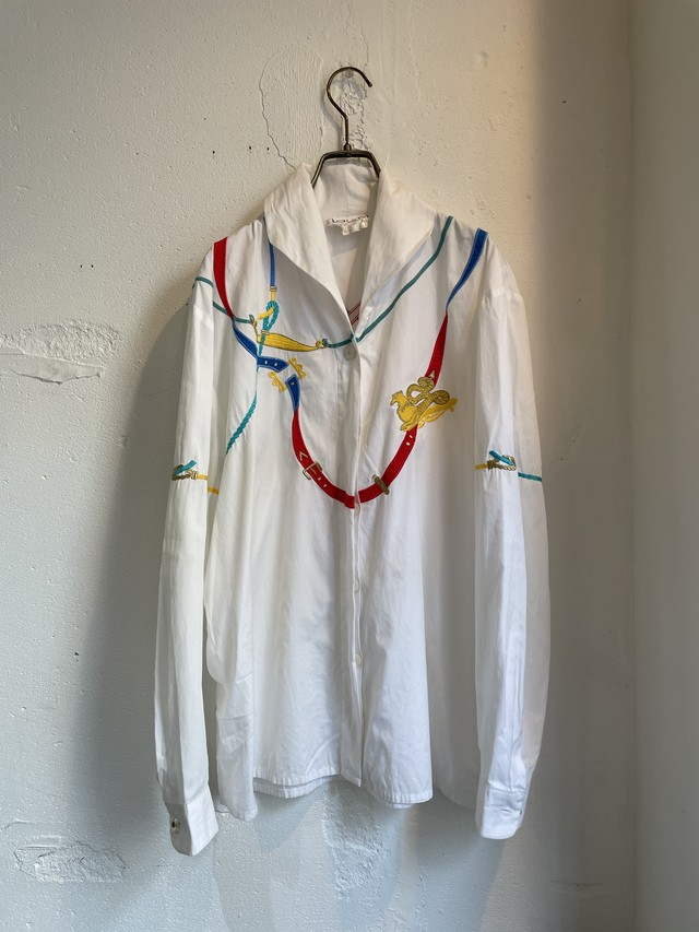 laurel vintage embroidery blouse