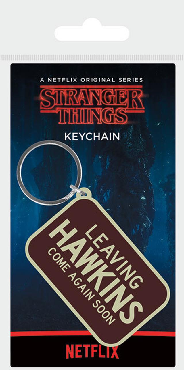 引続きセール主力商品20%OFF!  ストレンジャーシングス ラバーキーホルダー Stranger Things (Leaving Hawkins) PRK38890