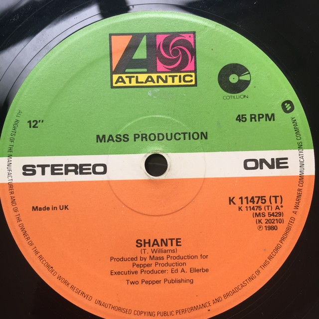 Mass Production ‎– Shante
