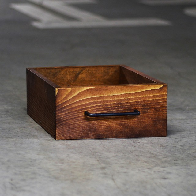 WOODEN BOX[TEAK COLOR]