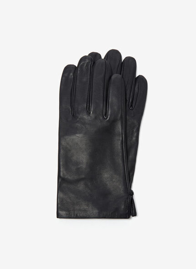 SHORT LEATHER GLOVES