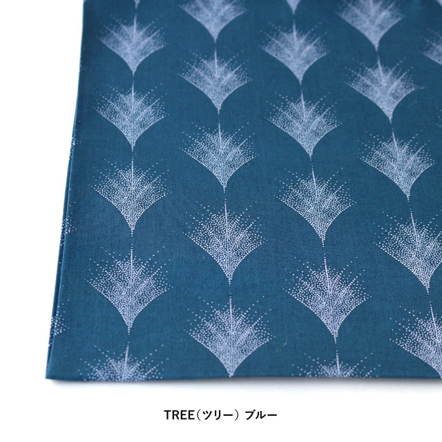 "【ネコポス対応】Scandinavian Handkerchief ""TREE""【ANGERS Original】"